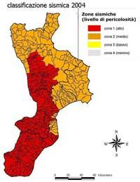 Rischio sismico in Calabria: la situazione