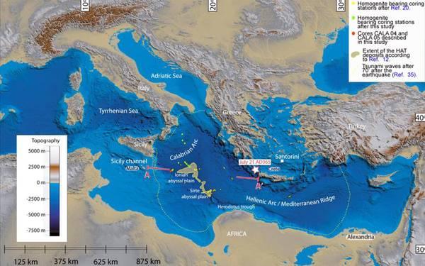 Uno tsunami nel Mediterraneo.