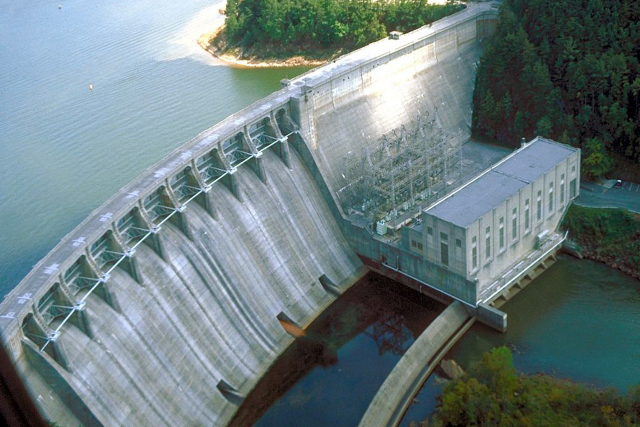 L'energia idroelettrica.