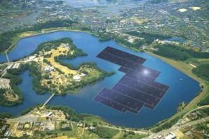 Sorge il più grande impianto solare galleggiante