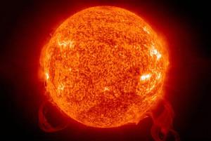 Ecco il Sole come non ve lo sareste mai aspettato!
