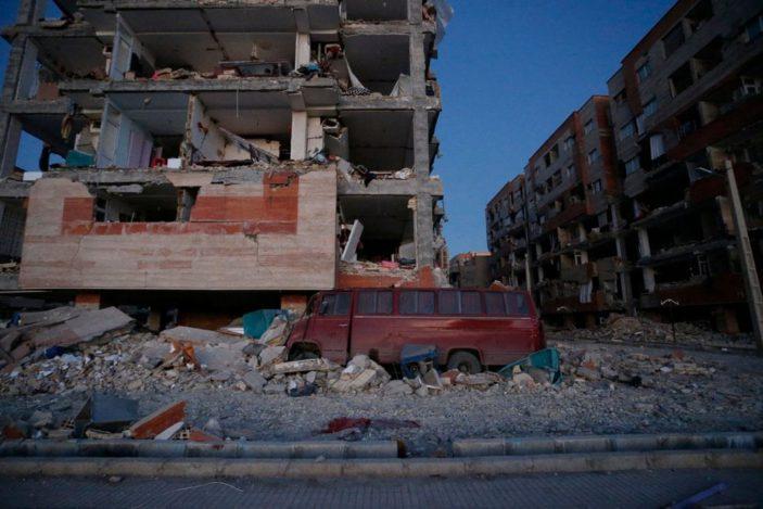 Il terremoto in Iraq.