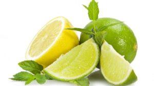 Il lime e il limone.