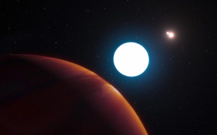 Ecco le stelle e i pianeti.