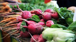 Le verdure e gli ortaggi.