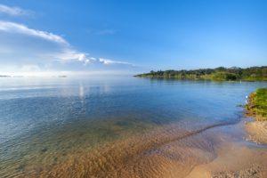 I laghi più grandi del mondo.
