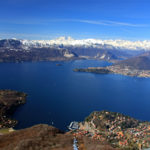 Il lago Maggiore.
