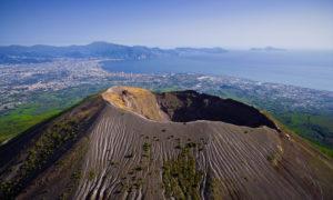 Il Vesuvio.